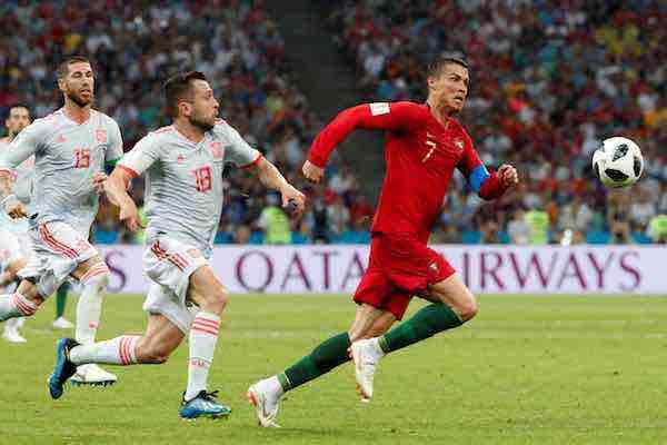 Cristiano Ronaldo frustra a España con un hat trick en el Mundial