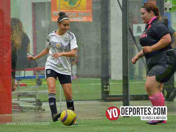 Contundente triunfo del Monaco sobre las Amazonas en futbol femenil
