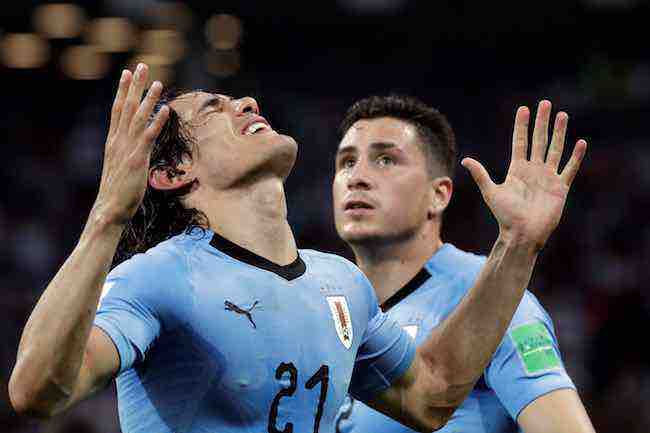 Edinson Cavani-Uruguay-Portugal-Mundial Rusia-14353643