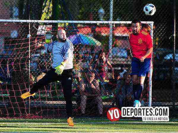 Estados Unidos-Espana-Mundialito-Illinois International Soccer League Chicago Futbol