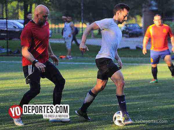 Estados Unidos-Espana-Mundialito-Illinois International Soccer League Pottawottomie Park