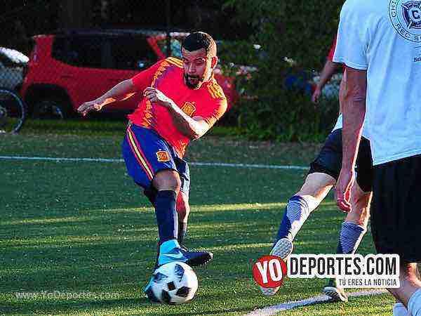 Estados Unidos-Espana-Mundialito-Illinois International Soccer League seleciones