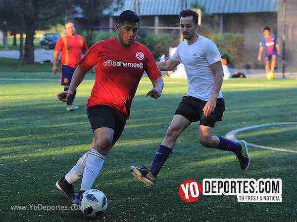 Estados Unidos-Espana-Mundialito-Illinois International Soccer League