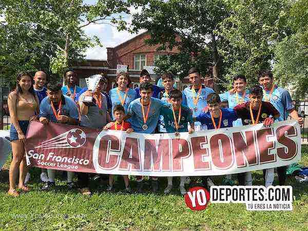 Sólido el Fierro FC que se corona campeón del Torneo Corto en la Liga San Francisco