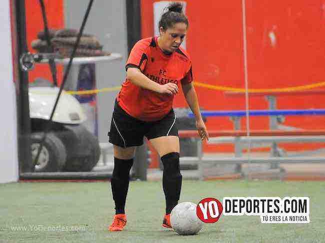 Flash-Monaco-AKD Soccer League Mujeres Futbolistas