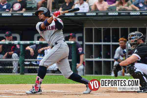 Francisco Lindor-cuadrangular White Sox-Cleveland Indians