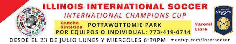 International Champions Cup Pottawottomie Park Chicago