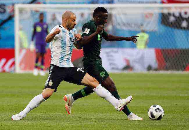 Javier Mascherano-Argentina-Nigeria-Mundial de Rusia