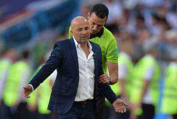 """Sampaoli: """"El compromiso de Leo está intacto"""""""