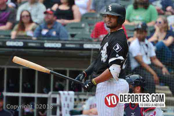 Jose Rondon-White Sox-Cleveland Indians