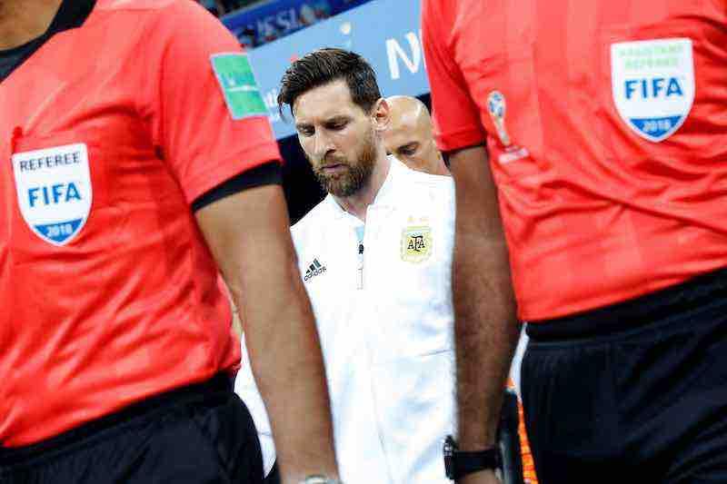 Argentina se recupera tras la derrota ante Croacia