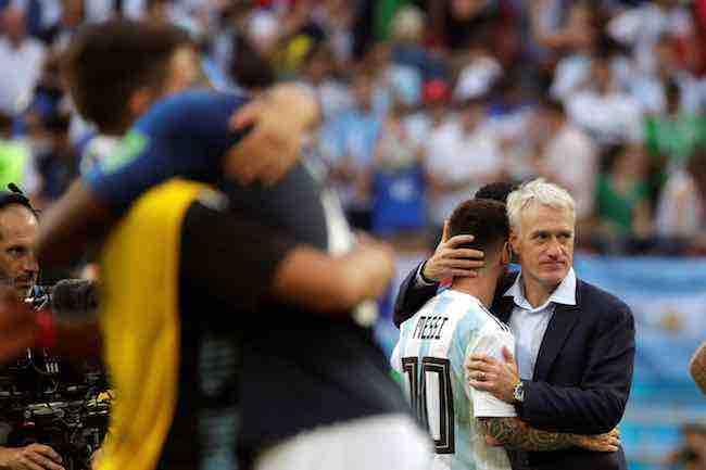 Messi eleva a 756 minutos su sequía goleadora en rondas eliminatorias