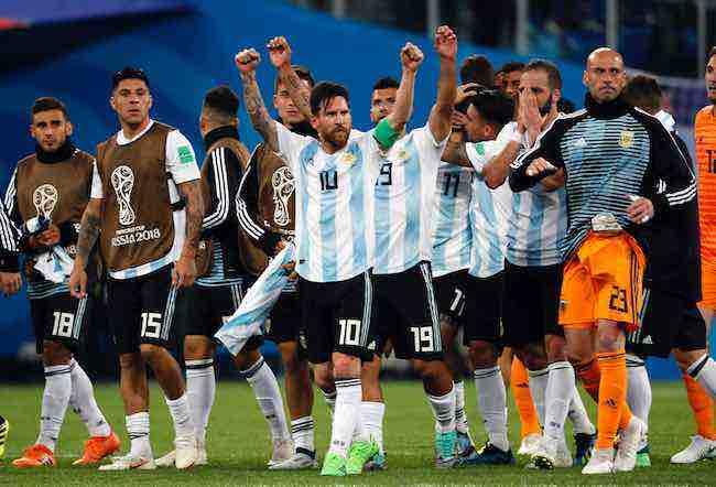 """Leo Messi: """"Estábamos convencidos de que lo íbamos a hacer"""""""