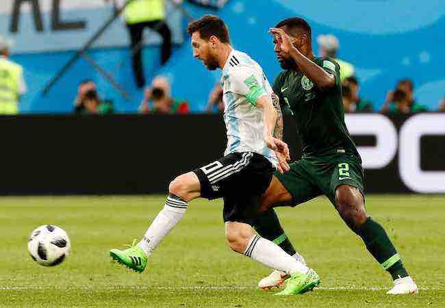 Lionel Messi marca su primer gol en Rusia 2018 y adelanta a Argentina