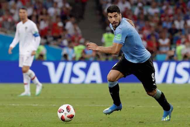 Luis Suárez-Uruguay-Portugal-Mundial Rusia
