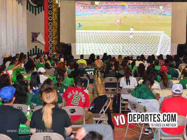 Café y pan gratis para el México-Suecia en Chitown Futbol