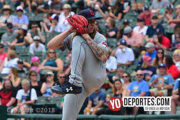 Mike Clevinger pitcher-White Sox-Cleveland Indians
