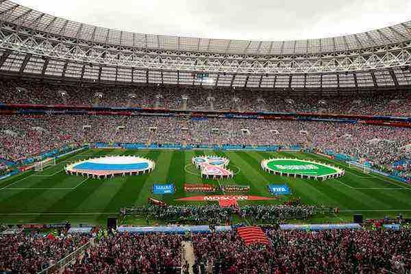 Arranca el Mundial de Futbol 2018 con la ceremonia de inauguración