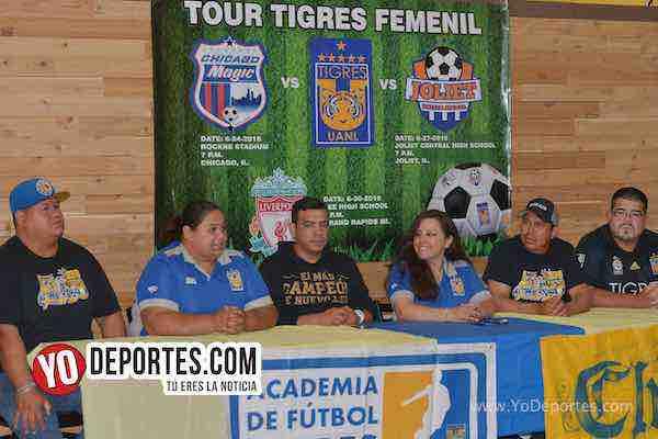 Porra Libres y Lokos Chicago-Tour Tigres Femenil UANL Campeonas Liga MX