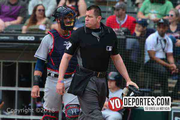 Umpire Carlos Torres-White Sox-Cleveland Indians