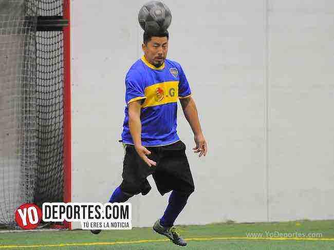Warriors-Winchester-Liga Latinoamericana Portero Indoor soccer