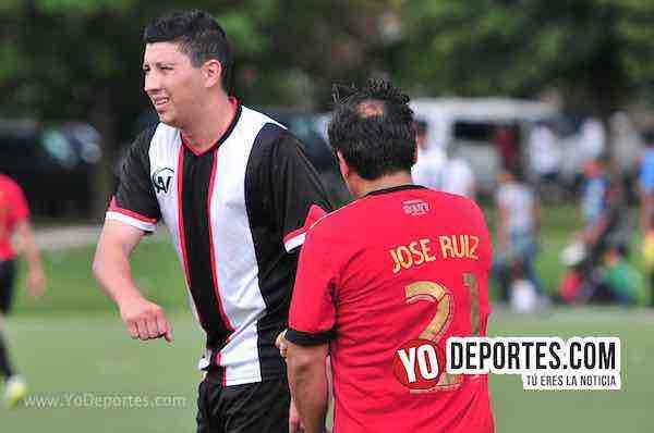 Altamira-Toros Neza-Liga Douglas de Futbol en Chicago