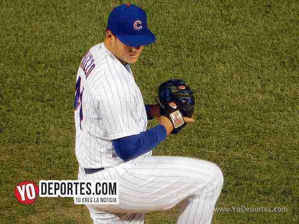 Anthony Rizzo pitcher pitching Cubs-Arizona Diamondbacks