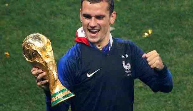 Antoine Griezmann elegido mejor jugador de la final del Mundial de Rusia 2018