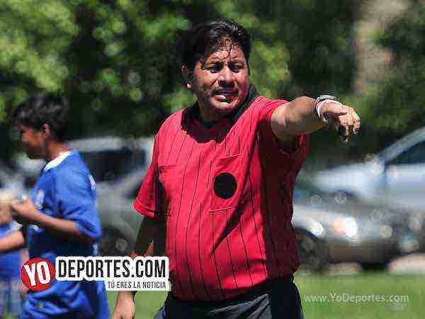 Arbitro Alfredo Lopez-Estrella Blanca-Tonalapa-Liga Douglas