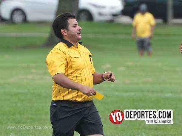 Arbitro Alfredo Lopez-Valle FC-El Rey-Liga Douglas