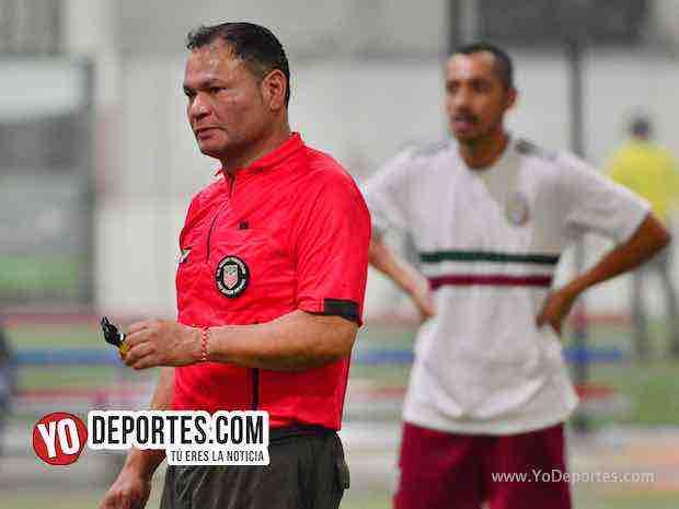 Arbitro Armando Ortega-San Marcos-Warriors-Liga 5 de Mayo