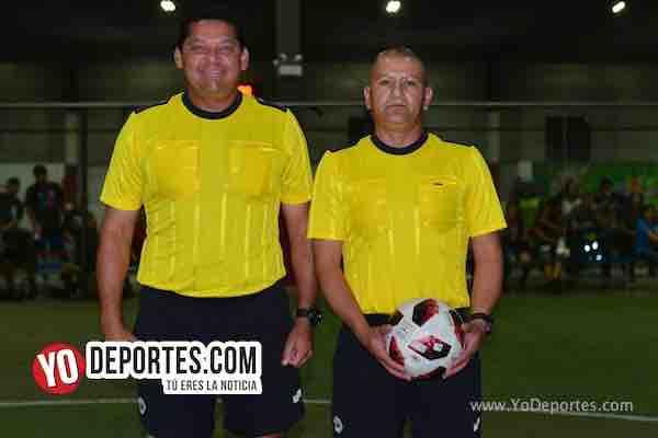 Arbitro Danilo Caballero-Jesse Aguirre-San Luis-Chicago Ladies-Liga Latinoamericana