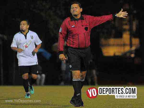 Arbitro Danilo Caballero-San Lazaro-Deportivo 55-Liga Latinoamericana