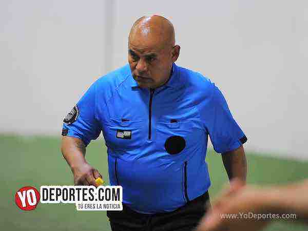 Arbitro Diego Rivera-Deportivo Azteca-Los Merengues-Liga Latinoamericana