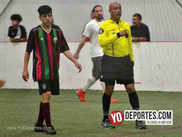 Arbitro Fernando Ibarra-Deportivo Azteca-Deportivo 55-Liga Latinoamericana