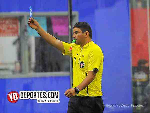 Arbitro Manny Duran-Deportivo Aztecas Jr-Guanajuato-Liga Latinoamericana