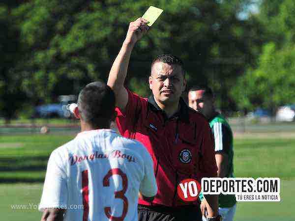 Arbitro Rigo Gomez-Douglas Boys-Real Tilza-Liga Douglas