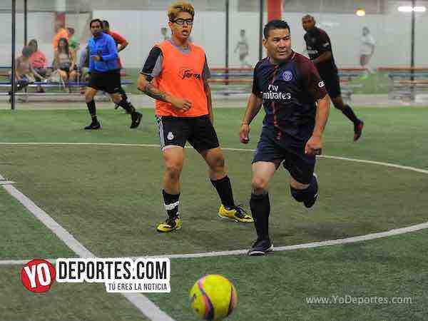Azul Krema-Deportivo Hidalgo-Liga 5 de Mayo Futbol Rapido Indoor Chicago
