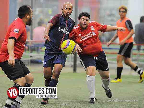 Azul Krema y Deportivo Hidalgo se fueron empatados el viernes en la Liga 5 de Mayo