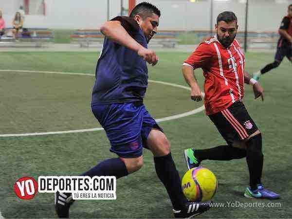 Azul Krema-Deportivo Hidalgo-Liga 5 de Mayo Soccer League
