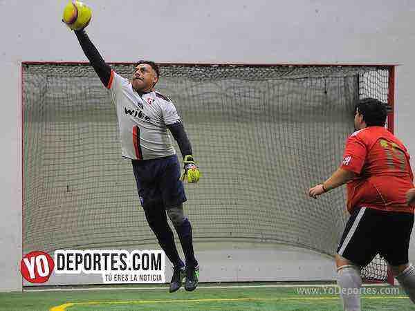 Azul Krema-Deportivo Hidalgo-Liga 5 de Mayo portero indoor soccer