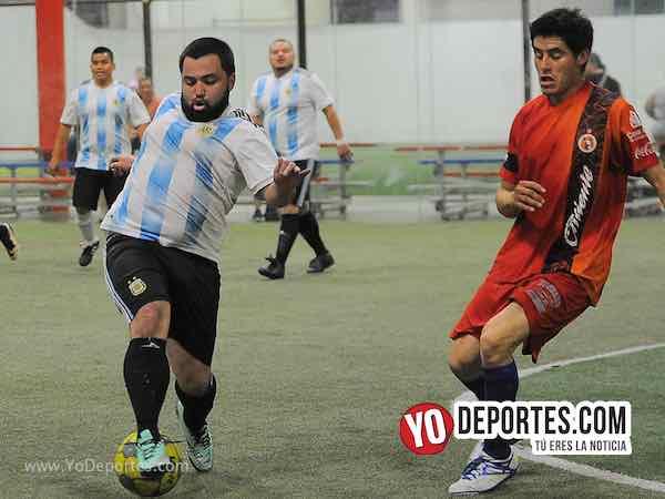 Azul Krema-La Bendición-Liga 5 de Mayo Futbol Indoor