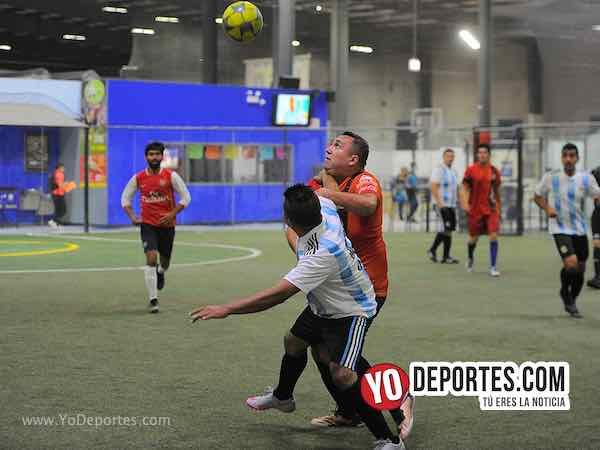 Azul Krema-La Bendición-Liga 5 de Mayo Futbolistas