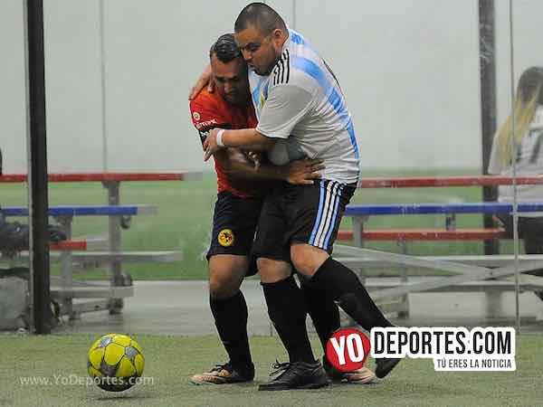 Azul Krema-La Bendición-Liga 5 de Mayo Soccer League