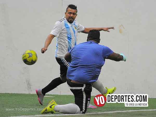 Azul Krema-La Bendición-Liga 5 de Mayo Soccer