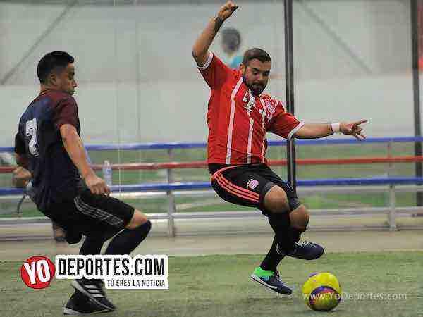 Azul Krema saca empate con Deportivo Hidalgo-Liga 5 de Mayo