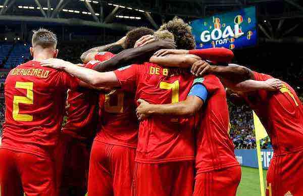 Belgica-Brasil fuera del Mundial Rusia