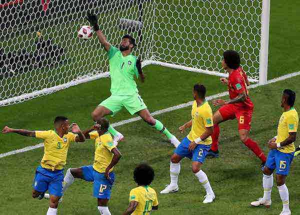 Belgica elimina Brasil-Mundial Rusia