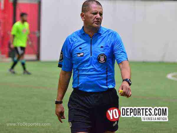 CD Hidalgo-Muchos Nachos-Liga Latinoamericana-Arbitro Jesse Aguirre