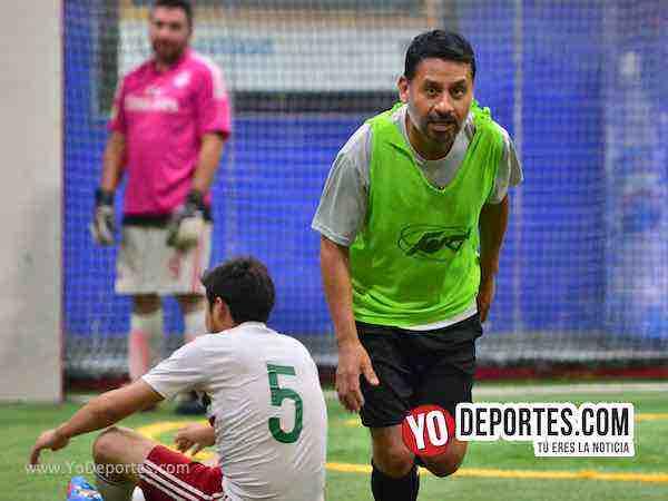 CD Hidalgo y Muchos Nachos se repartieron los puntos